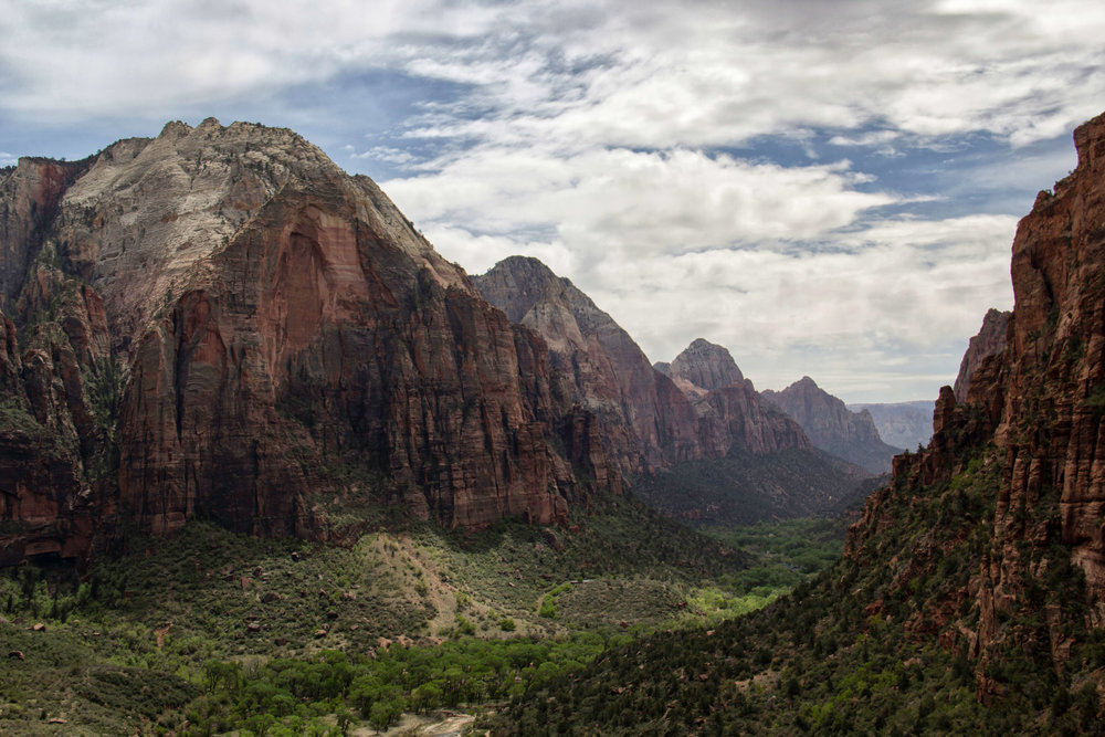 Zion Canyon from Angel's Landing - ©️ Nicole Atkins