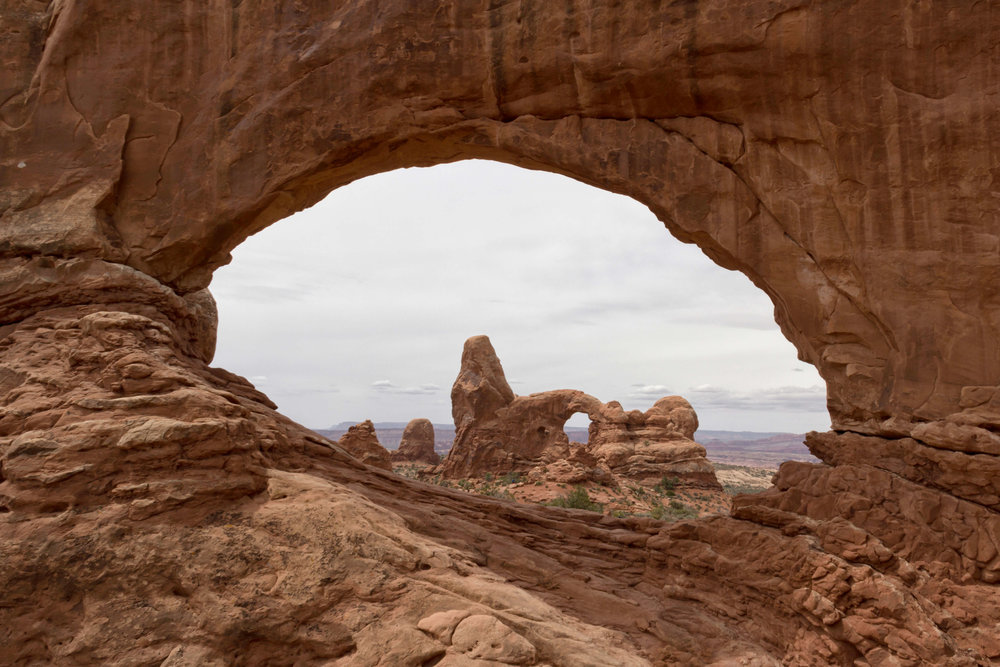 Turret Arch via  North Window in Arches - ©️ Nicole Atkins