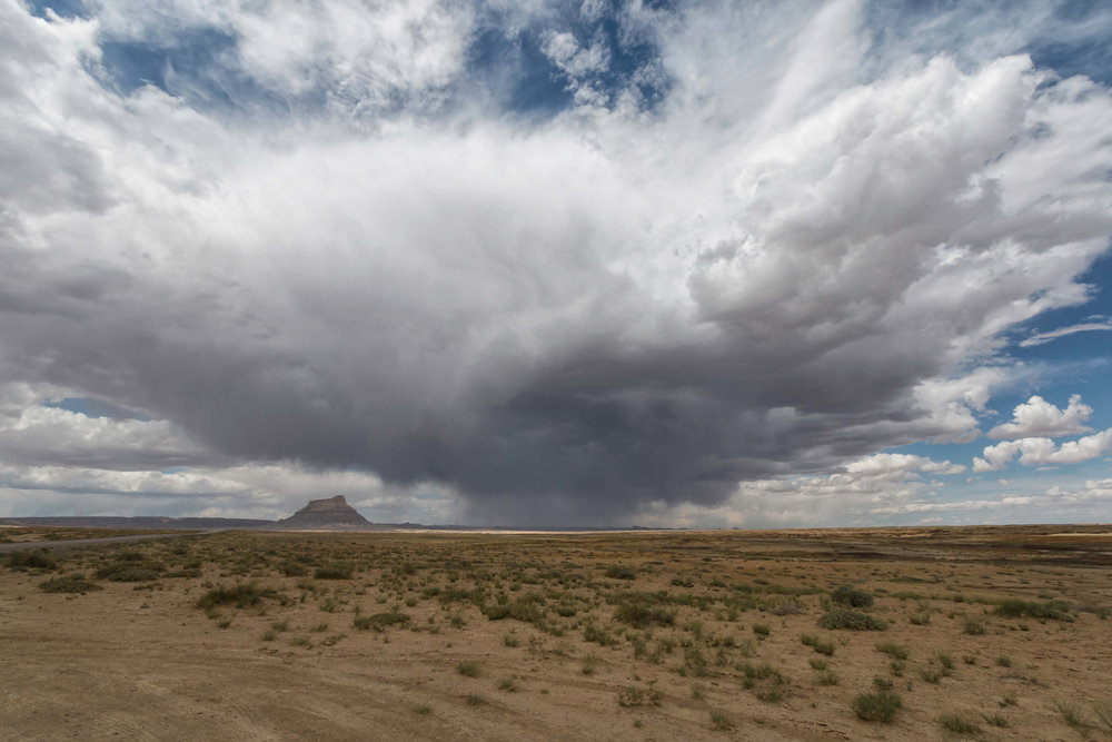Desert Clouds in Grand Staircase-Escalante National Monument - ©️ Nicole Atkins Modern Outdoors