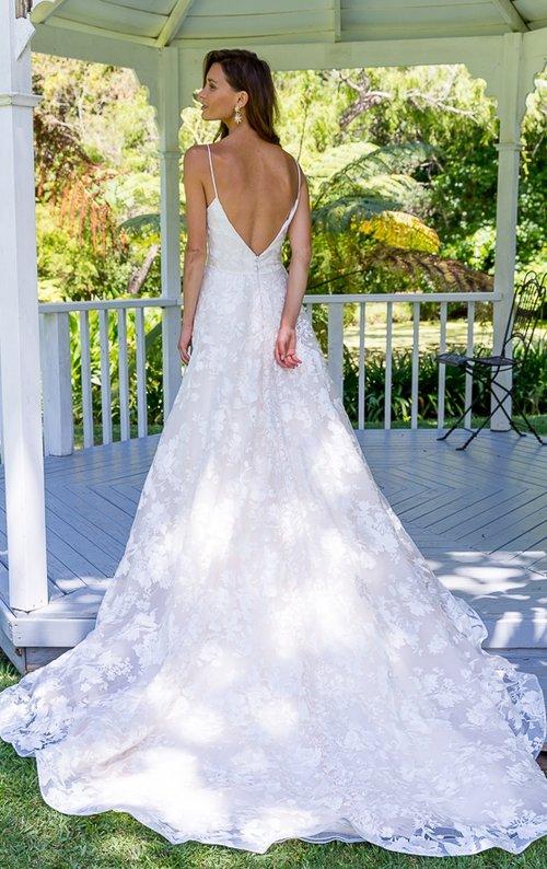 NINA-Lace Wedding Dress — Sarah Joseph Couture