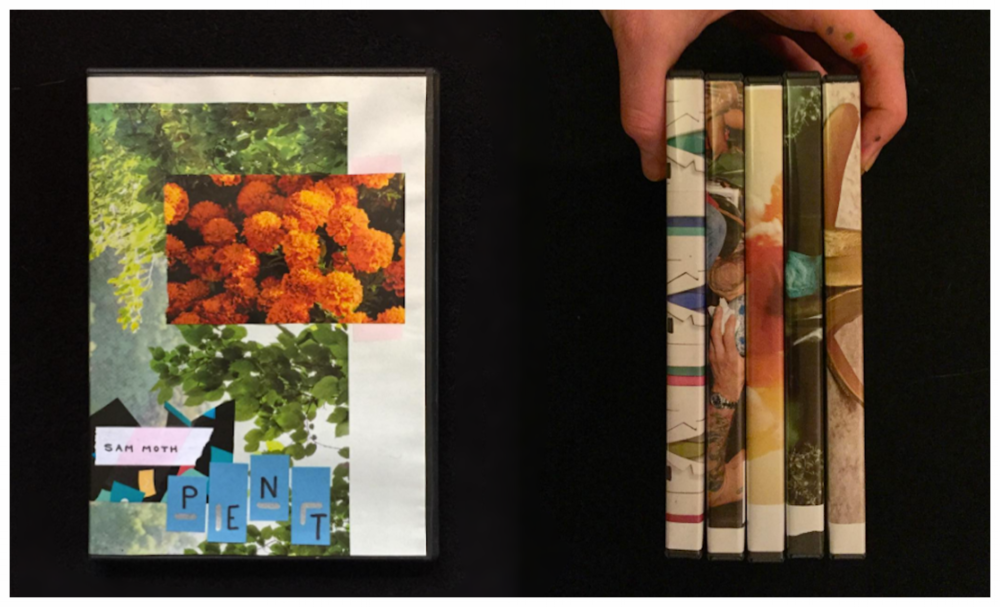 CD: Any Release + Collage Cover - Custom art by Sam Moth / + $3