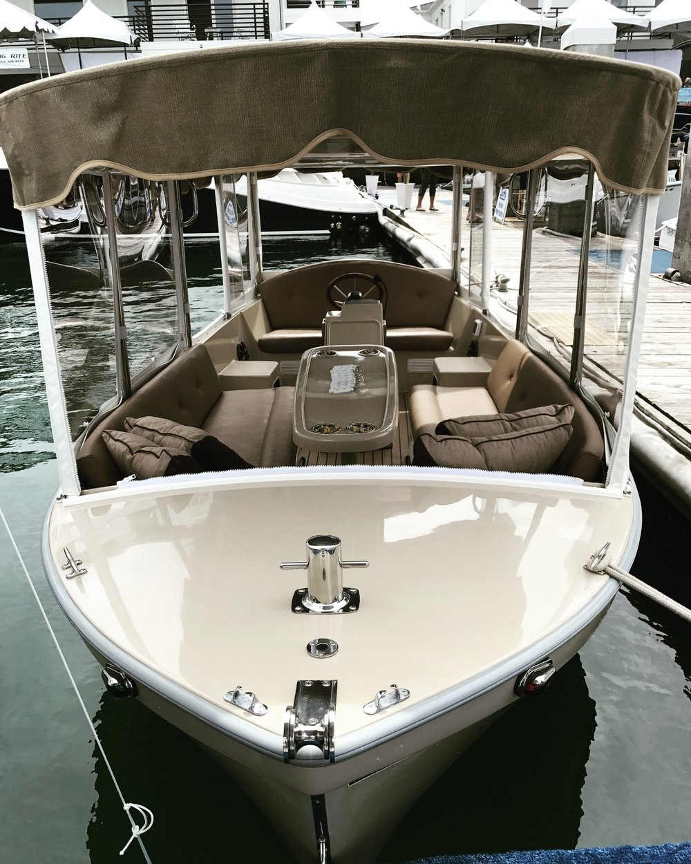 Complete Re-fit Duffy electric boat