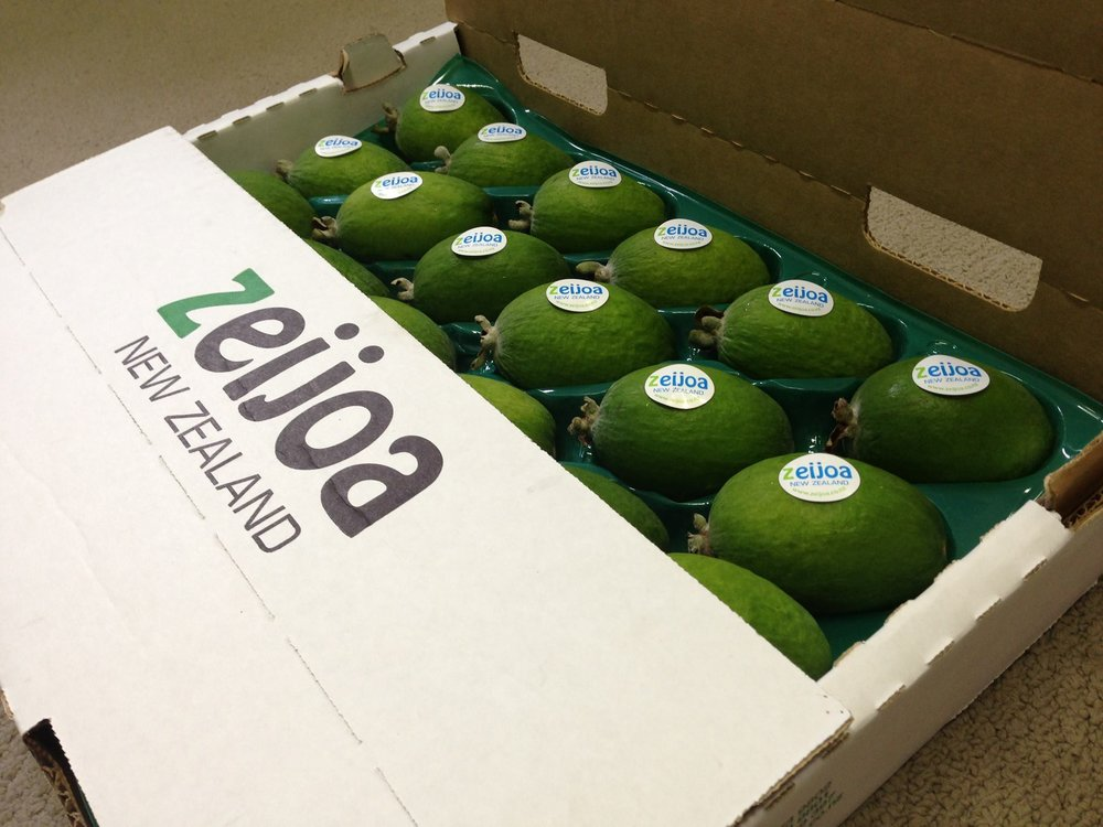 Zeijoa   New Zealand's premier, grower owned feijoa brand.   Looking for partners now