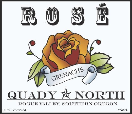 Quady North Grenache Rosé label