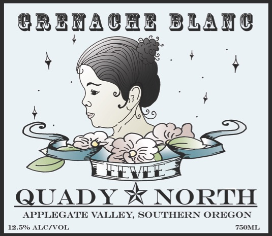 Quady North Grenache Blanc Label