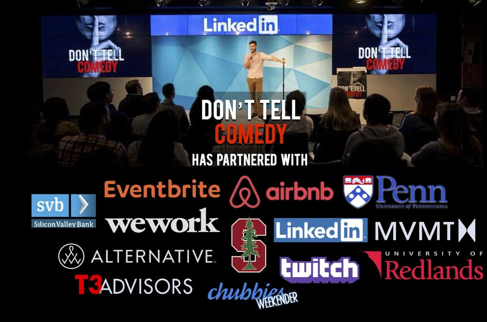 """""""They took care of  everything ---all we had to do was sit back, relax and enjoy an awesome comedy show in the comfort of our own office! We can't wait to have them back for another event at T3 advisors!""""  -Roy Hirshland (CEO @ T3 Advisors)"""