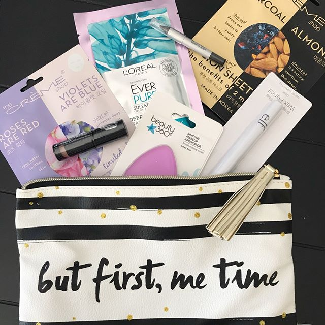 CVS Haul Bonus - a complimentary beauty bag with a few goodies.  #theamateuresthetician #review #beautyreviews #blogger #beautyblogger  #makeup #makeupjunkie #makeupaddict #instabeauty #makeupcollection #makeupflatlay #makeupaddicted #wakeupandmakeup #makeupoftheday #Beautygram #beautyjunkie #fiercesociety #skincare #skincareaddict #skin #antiaging #instaskincare #skincareobsessed #beautycare  #skincareluxury  #beautyskin  #beautyproduct #skincarereview #skincareblogger