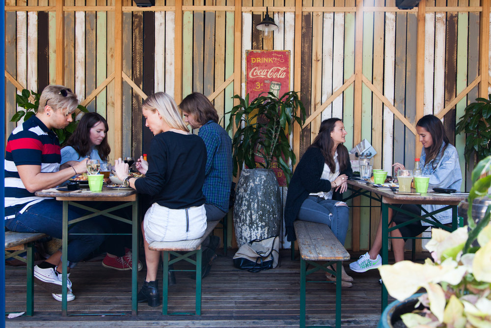Courtyard Fancy a backyard session with none of the cleaning up? Whether you're looking for a hot brisket sandwich straight from the Smoker or just want to host a bbq without the hassle, The Erko courtyard is newly renovated and a great area for wiling an afternoon away with friends. NB: The Courtyard becomes smoking friendly after 5pm.