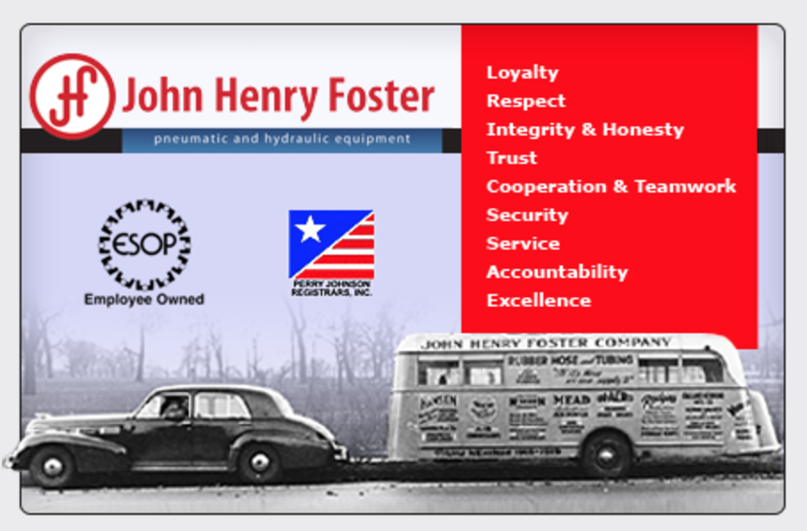 John Henry Foster | Pneumatic & Hydraulic Equipment