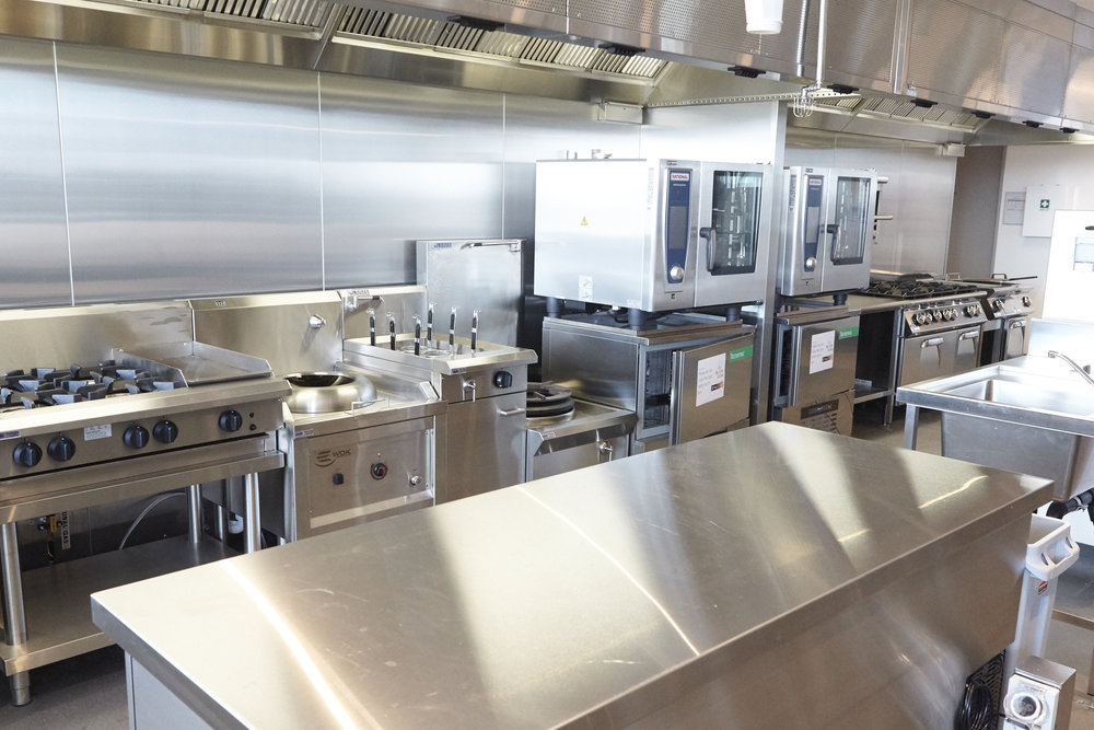Commercial kitchen hire