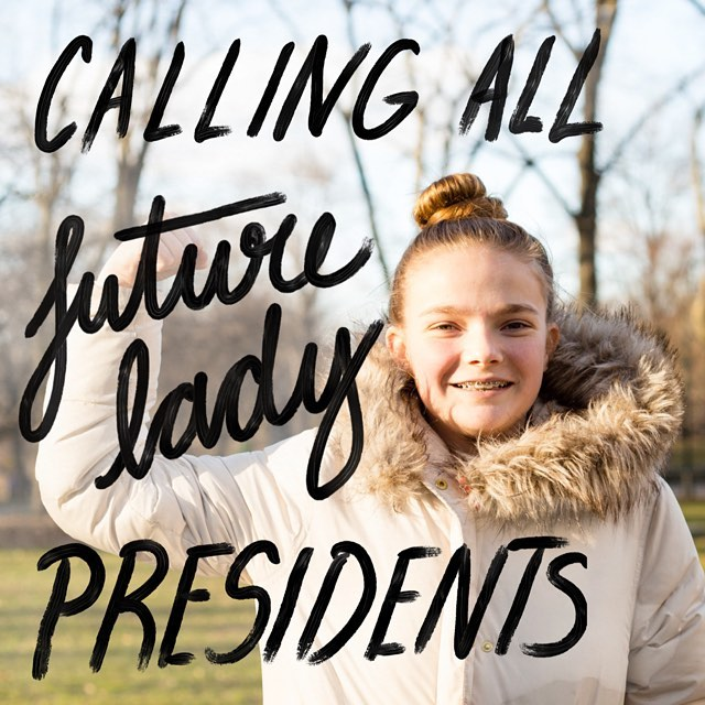 Do you have a little lady in your life that wants to be President someday? Ask her what she'll do when she becomes President, send us her quote along with an empowering photo of her and we'll feature her in our next post. #TheWhenProject #Thefutureisfemale