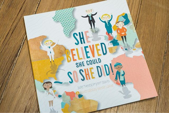 She believed she could lead the United States and knew it would be an exciting race. So she never stopped trying and never gave in, and proved there was more than just one way to win. #shebelievedshecouldsoshedid written by @hestaprynnmusic, illustrated by @smallmadegoods of #womensmarch fame. Available now link in bio!