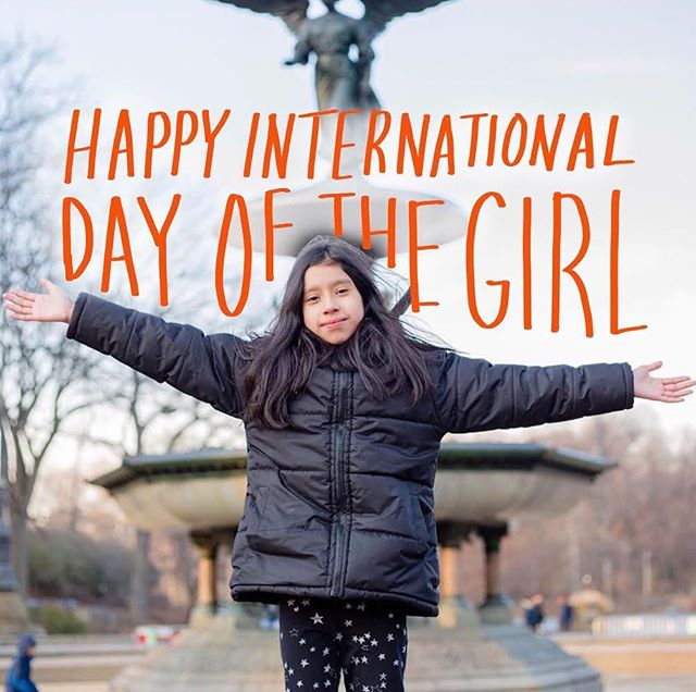 Happy #InternationalDayoftheGirl to you and all the amazing girls in your life.
