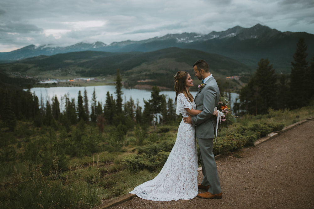 Colorado Mountain Wedding Elopement