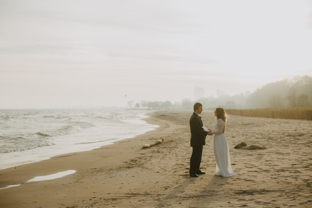 Beachy Milwaukee Elopement