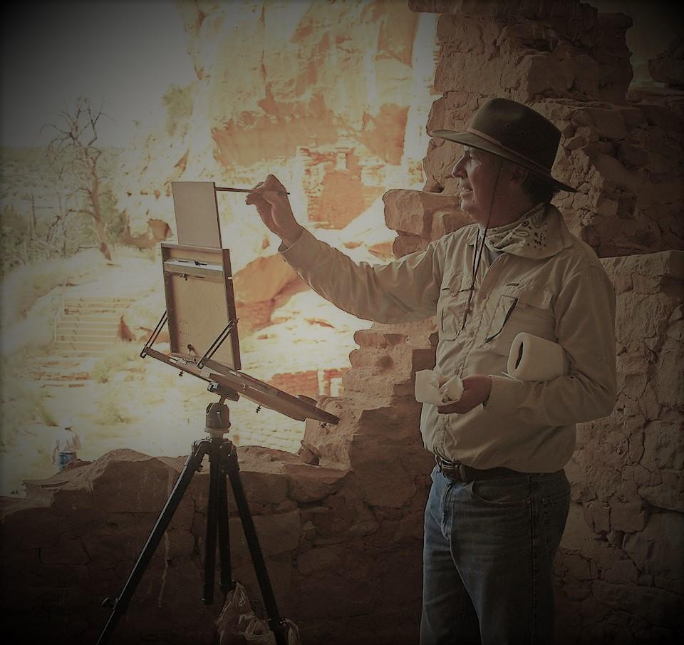 lorenzo-chavez-artist-mesa-verde-national-park