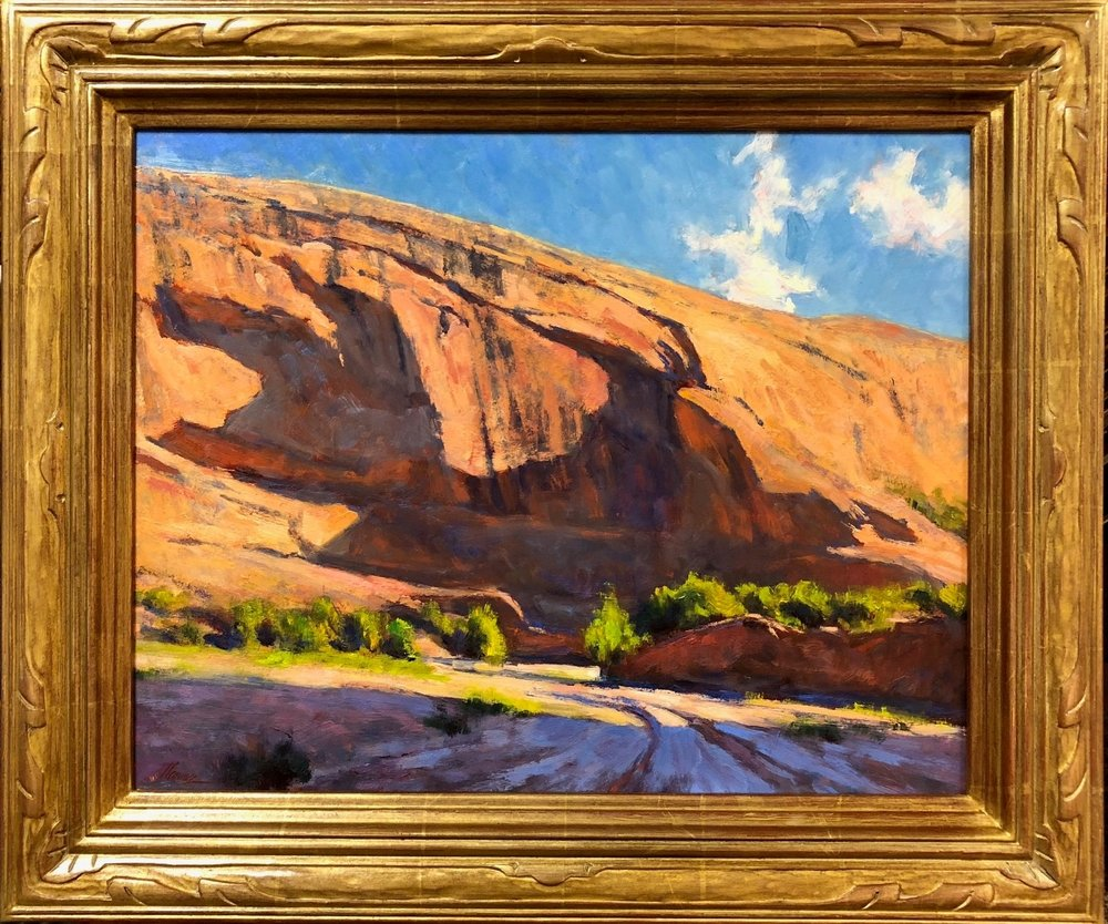 Shadows On The Mesa Oil 16 x 20 107th Gold Medal Exhibtion.jpg
