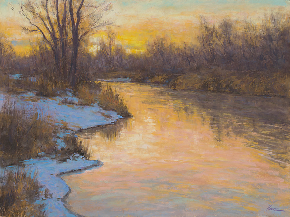 Golden Dusk-SOLD