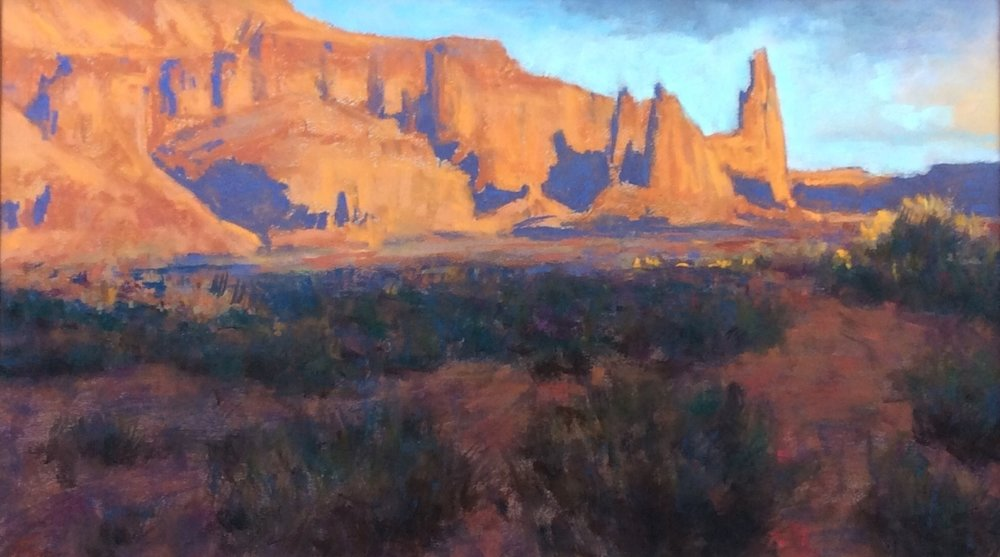 Light on the Mesa