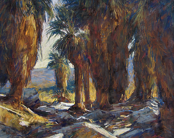 Palm Canyon California-SOLD