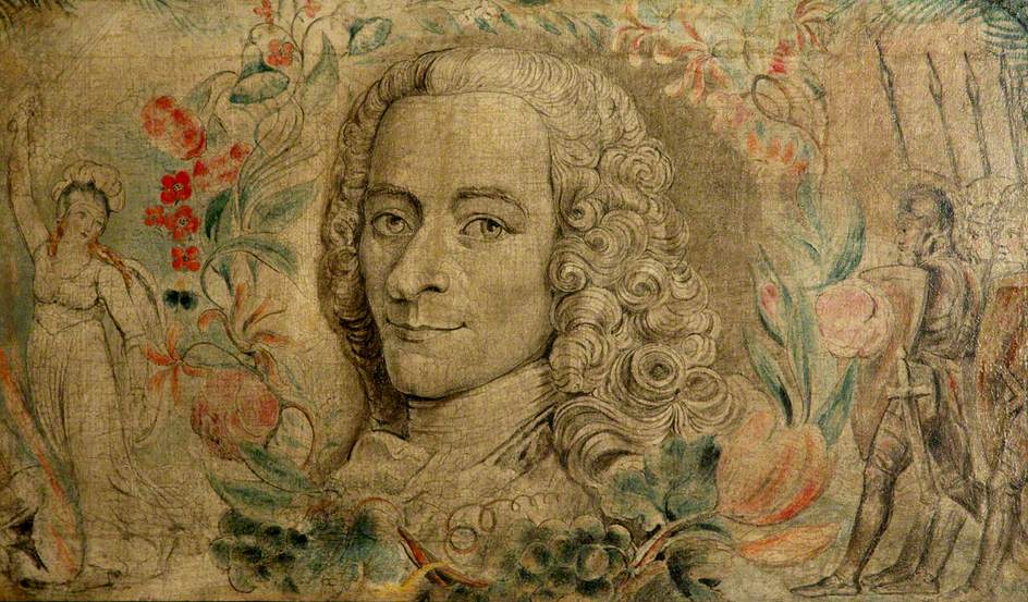 Voltaire, by William Blake