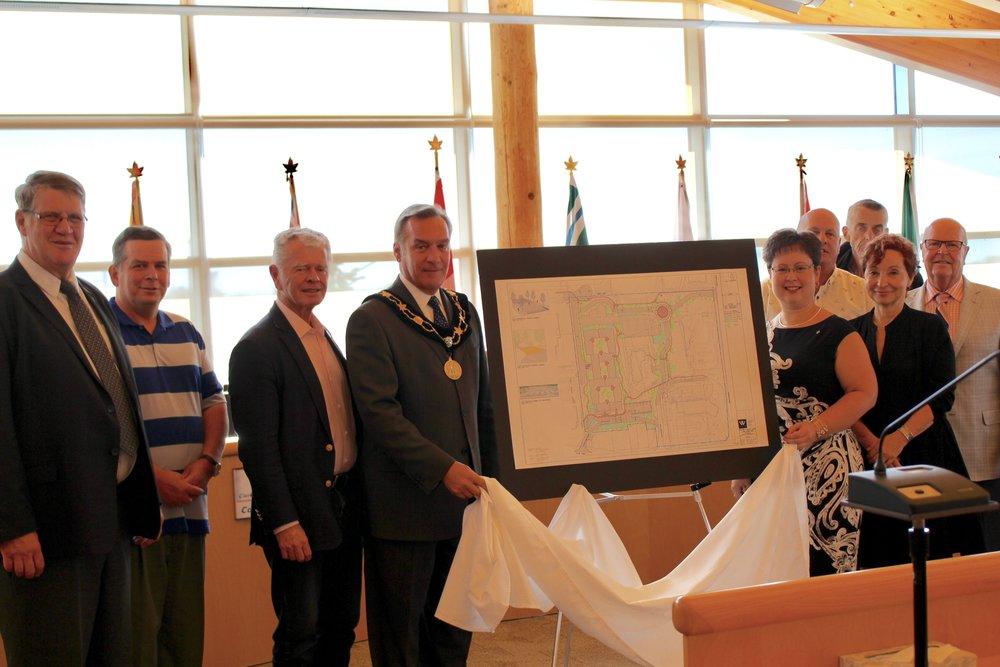 Council unveiling GPL site plan.jpg