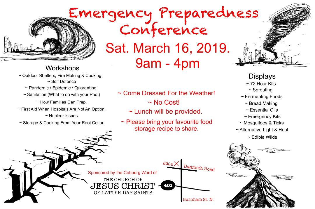 Emergency Preparedness Conference — Northumberland 89 7 FM