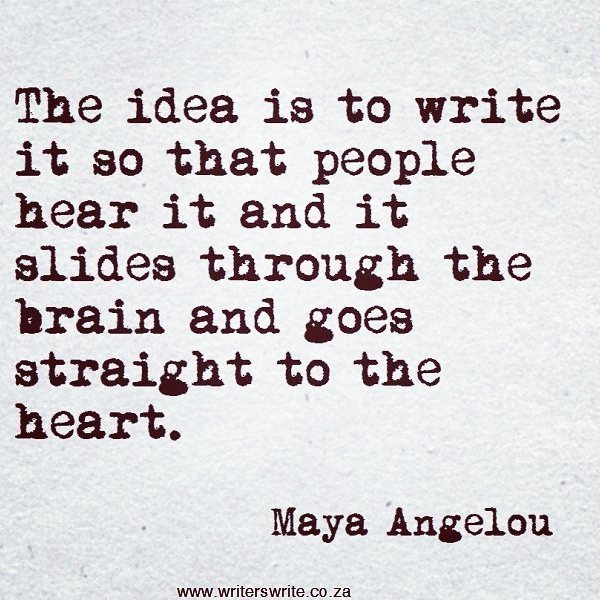 The great Maya Angelou with another brilliant quote. #writing #writers #typetank