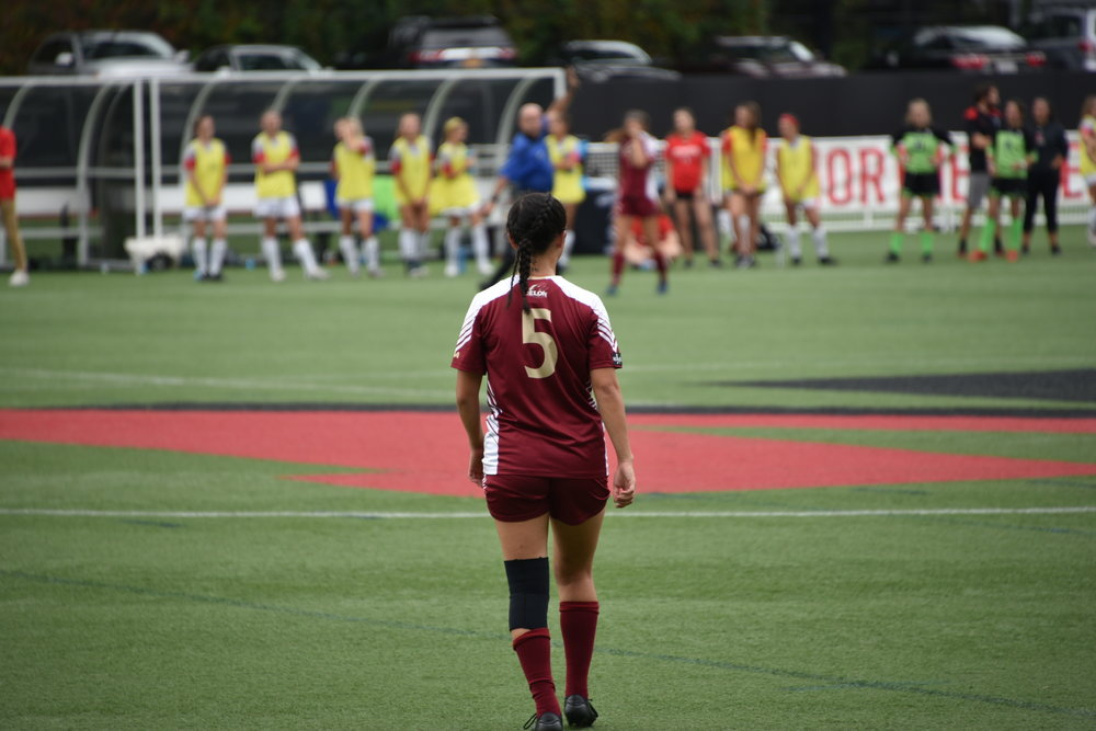 college soccer female athlete
