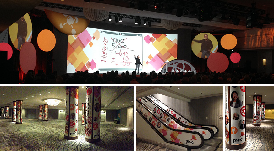 PwC Canada | 2016 National Partner Conference - Show producer - Art direction - Production oversight