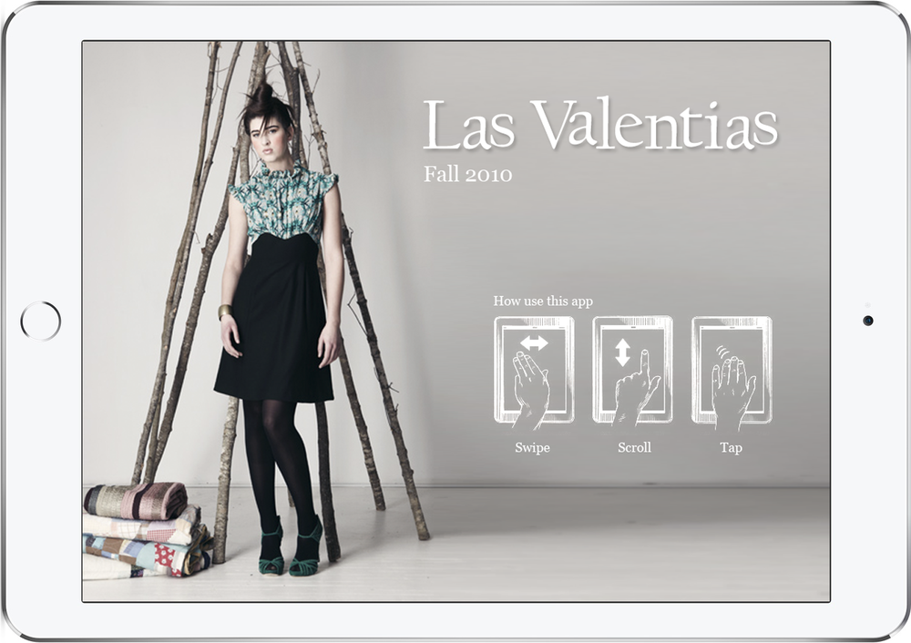 Las Valentias | - Logo and identity - Web design - iPad catalog
