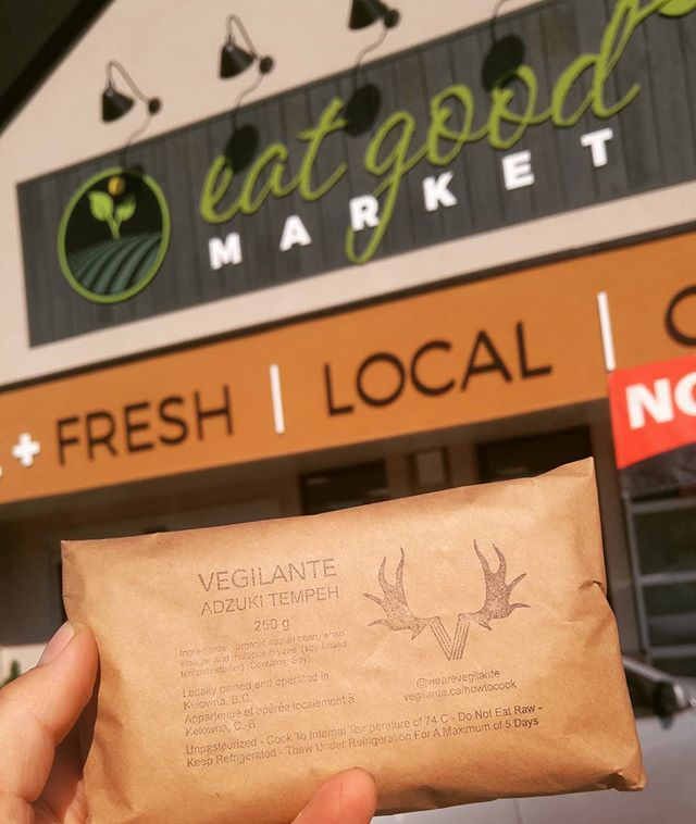 Hey Vernon! We're becoming more and more accessible - you can now grab our tempeh at @eatgoodmarketvernon