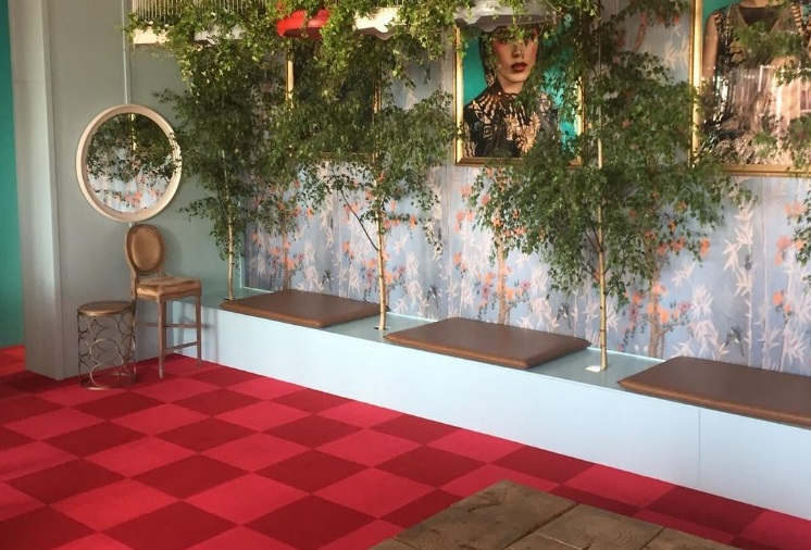 Melbourne Cup Carnival 2015 - Swisse Marquee - Designer Matt Martino - Flooring by allfloors