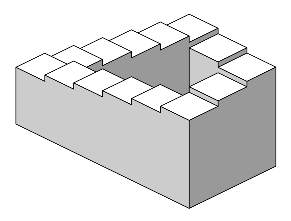 There's something about the MIA that reminds me of Penrose Stairs