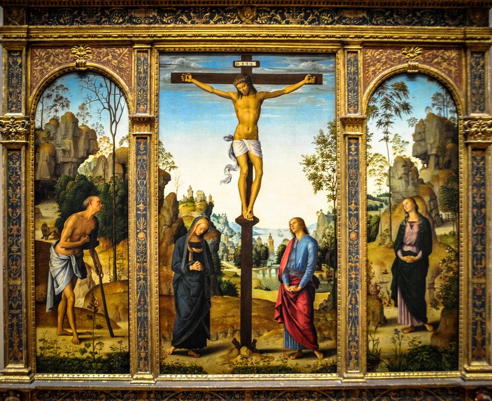 perugino-crucifixion