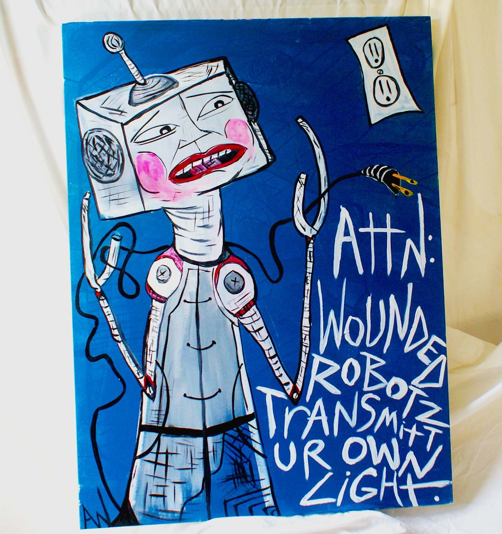 """""""Attn: Wounded Robotz"""" -"""