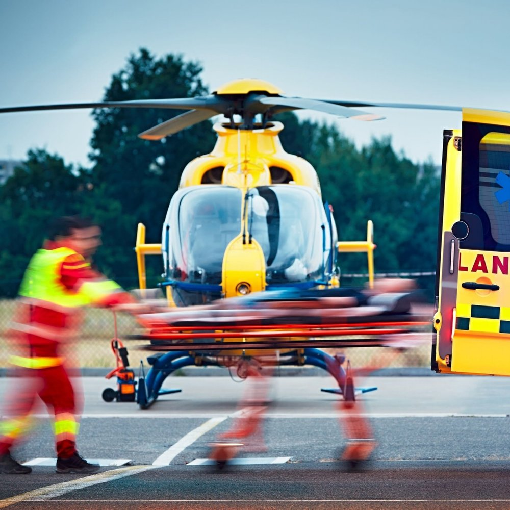 Medical flights for patient emergencies and medical evacuations