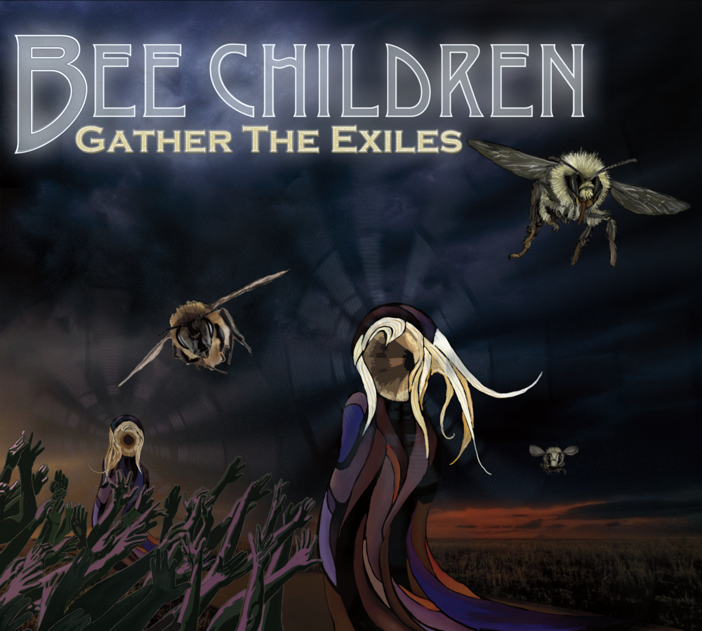 Bee Children - Gather the Exiles cover HIGH RESOLUTION.png