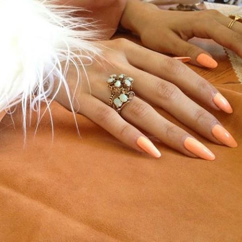 #brooklyn #nails #comingsoon #bushwick #1970s #orange #crush #nailart #nyc #wildoleander
