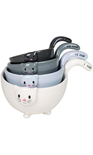 Ceramic Cat Measuring Bowls