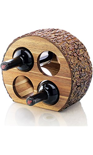 Acacia Wine Rack
