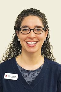 Karen, Veterinary Assistant