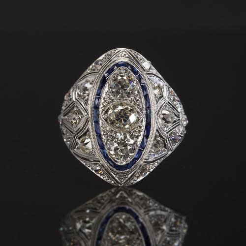 Diamond Brooch Todd and Company San Diego
