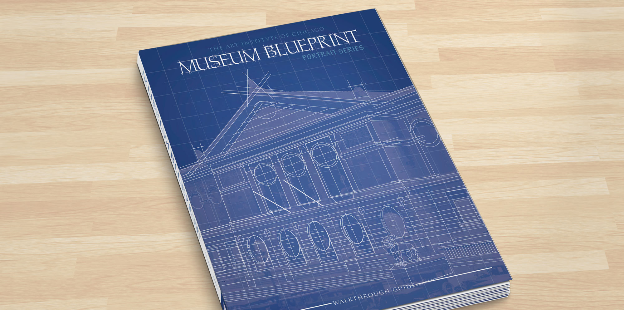 Museum blueprint graphic design print design book making information architecture malvernweather Images