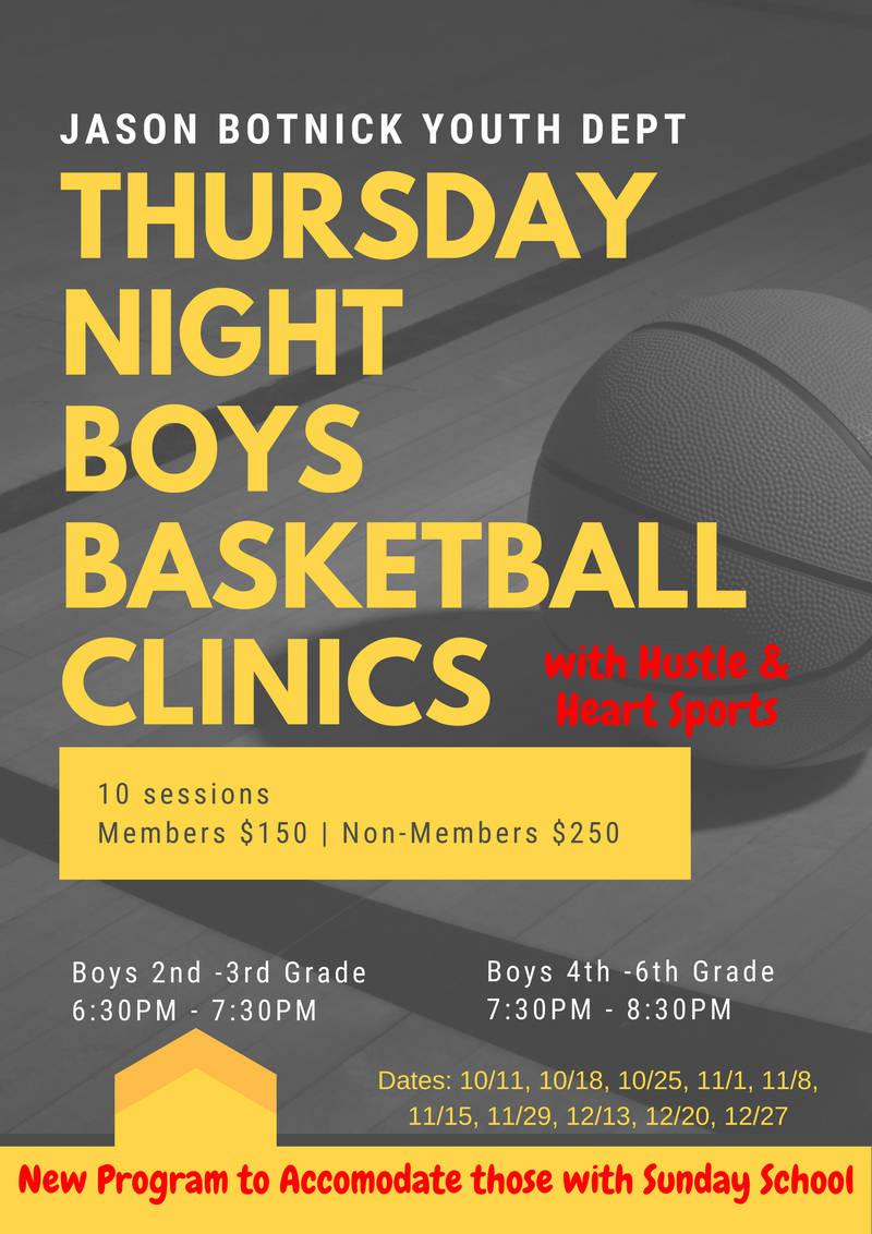 Thursday Night for Boys