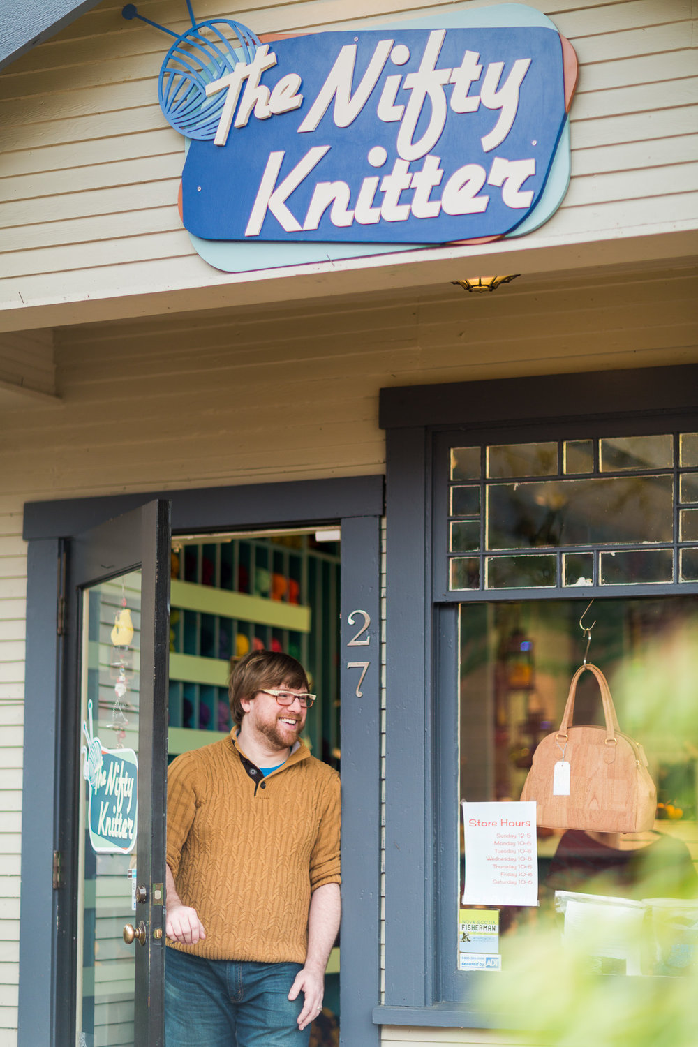 The Nifty Knitter Exterior