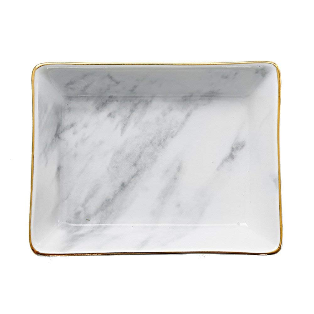 #9. TRINKET DISH. These are a sophisticated little addition to a nightstand or bathroom counter for odds and ends.