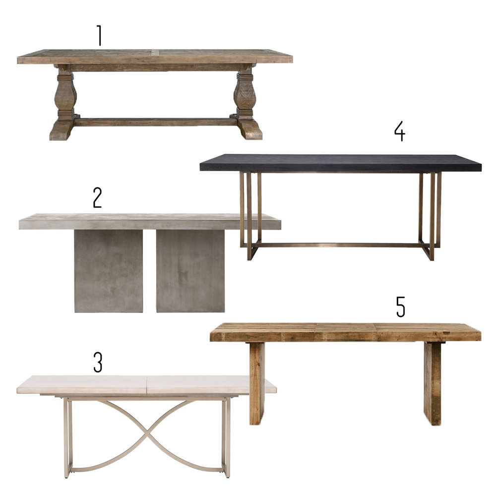 1.  Wayfair  2.  CB2  3.  High Fashion Home  4.  Minimal & Modern  5.  West Elm