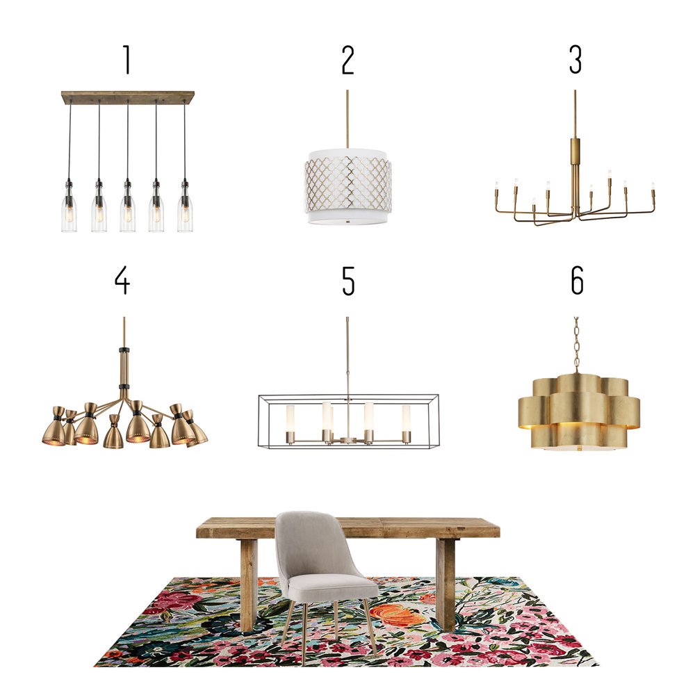 1.  Houzz  2.  Overstock  3.  Crate and Barrel  4.  Magnolia Lighting  5.  Lightology  6.  Shades of Light