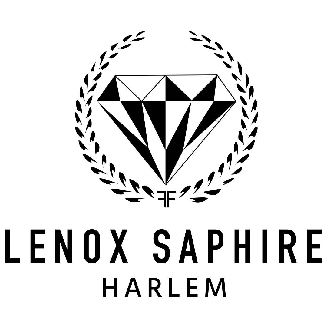 lenox logo. lenox saphire harlem logo